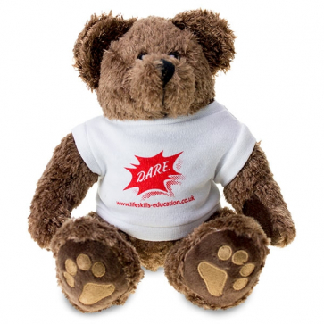 "DARE 10"" Teddy Bear With T-shirt"