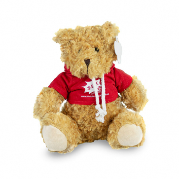DARE 30cm Teddy Bear With Hoodie