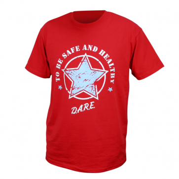 Red Star T-shirt Large Youth